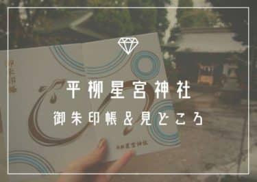 平柳星宮神社の御朱印帳と御朱印!うなぎ御朱印と御朱印帳が可愛い♡【栃木】